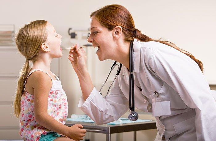 Лечение катаральной ангины