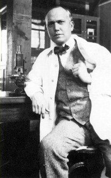 Американский ученый Герберт МакЛин Эванс (1882-1971)