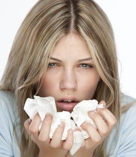 Первые признаки и симптомы простудных заболеваний