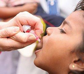 Профилактика полиомиелита. Прививки от полиомиелита