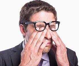 Синдром сухого глаза – симптомы, причины и лечение сухости глаз