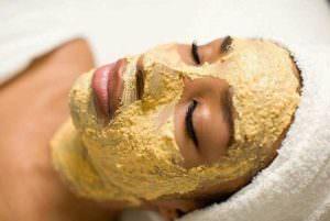 Картофельная маска на лице